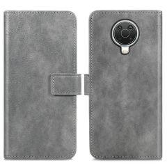iMoshion Luxuriöse Buchtyp-Hülle Nokia G10 / G20 - Grau