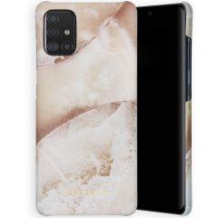 Selencia Maya Fashion Backcover Samsung Galaxy A51 - Earth White