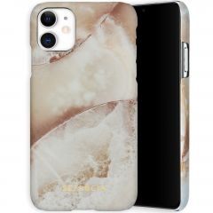 Selencia Maya Fashion Backcover iPhone 11 - Earth White