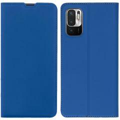 iMoshion Slim Folio Booklet  Xiaomi Redmi Note 10 (5G) - Blau