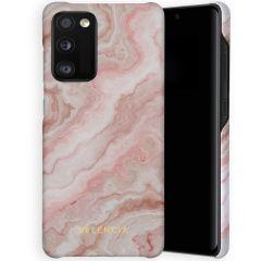 Selencia Maya Fashion Backcover Samsung Galaxy A41 - Marble Rose