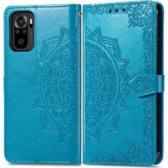 iMoshion Mandala Booktype-Hülle Xiaomi Redmi Note 10 (4G) - Türkis