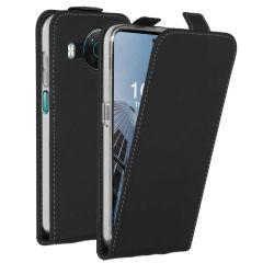 Accezz Flip Case für das Nokia X10 / X20 - Schwarz
