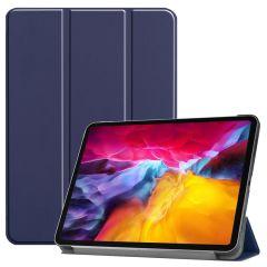 iMoshion Trifold Bookcase iPad Pro 11 (2018-2021) - Dunkelblau