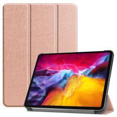 iMoshion Trifold Bookcase iPad Pro 11 (2018-2021) - Roségold