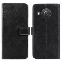 iMoshion Luxuriöse Buchtyp-Hülle Nokia X10 / X20 - Schwarz