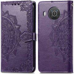 iMoshion Mandala Booktype-Hülle Nokia X10 / X20 - Violett