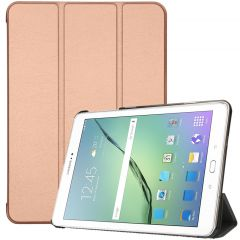 iMoshion Trifold Bookcase Samsung Galaxy Tab S2 9.7 - Rosegold