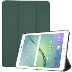 iMoshion Trifold Bookcase Samsung Galaxy Tab S2 9.7 - Dunkelgrün