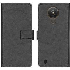 iMoshion Luxuriöse Buchtyp-Hülle Nokia 1.4 - Schwarz