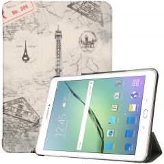 iMoshion Design Trifold Bookcase Samsung Galaxy Tab S2 9.7 - Paris