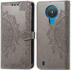 iMoshion Mandala Booktype-Hülle Nokia 1.4 - Grau