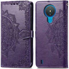 iMoshion Mandala Booktype-Hülle Nokia 1.4 - Violett