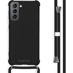 iMoshion Color Backcover mit Band Samsung Galaxy S21 - Schwarz