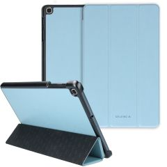 Selencia Trifold Book Case aus veganem Leder Galaxy Tab A 10.1 2019