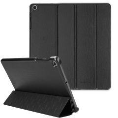 Selencia Trifold Book Case aus Schlangenleder Galaxy Tab A 10.1 2019