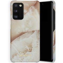 Selencia Maya Fashion Backcover Samsung Galaxy A41 - Earth White