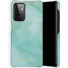 Selencia Maya Fashion Backcover Samsung Galaxy A72 - Marble Green