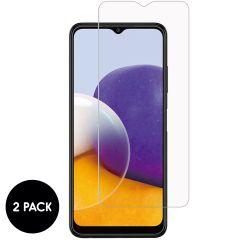 iMoshion Bildschirmschutzfolie Glas 2er-Pack Samsung Galaxy A22 (5G)