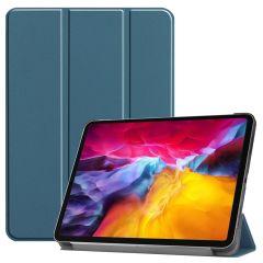 iMoshion Trifold Bookcase iPad Pro 11 (2018-2021) - Dunkelgrün