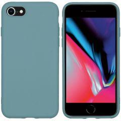 iMoshion Color TPU Hülle iPhone SE (2020) / 8 / 7 - Dunkelgrün