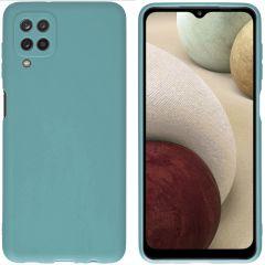 iMoshion Color TPU Hülle für das Samsung Galaxy A12 - Dunkelgrün