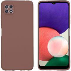 iMoshion Color TPU Hülle für das Samsung Galaxy A22 (5G) - Taupe