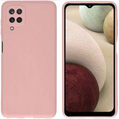 iMoshion Color TPU Hülle für das Samsung Galaxy A12 - Dusty Pink