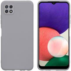 iMoshion Color TPU Hülle für das Samsung Galaxy A22 (5G) - Grau