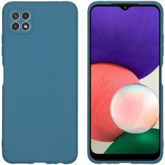 iMoshion Color TPU Hülle für das Samsung Galaxy A22 (5G) - Dunkelgrün