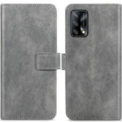 iMoshion Luxuriöse Buchtyp-Hülle Oppo A74 (4G) - Grau