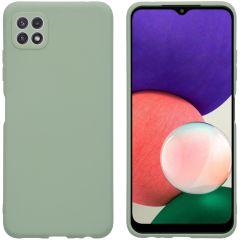 iMoshion Color TPU Hülle für Samsung Galaxy A22 (5G) - Olive Green