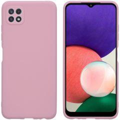 iMoshion Color TPU Hülle für Samsung Galaxy A22 (5G) - Dusty Pink