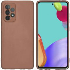 iMoshion Color TPU Hülle Galaxy A52(s) (5G/4G) - Taupe