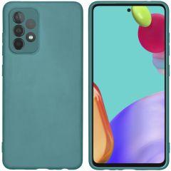 iMoshion Color TPU Hülle Galaxy A52(s) (5G/4G) - Dunkelgrün