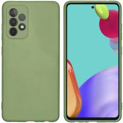iMoshion Color TPU Hülle Galaxy A52(s) (5G/4G) - Olive Green