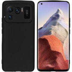 iMoshion Color TPU Hülle für das Xiaomi Mi 11 Ultra - Schwarz