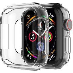 iMoshion Soft Case + Displayschutzfolie Apple Watch 4-6 / SE 40 mm