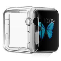 iMoshion Soft Case + Displayschutzfolie Apple Watch Serie 1-3 42 mm