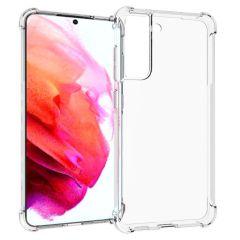 iMoshion Shockproof Case Samsung Galaxy S21 FE - Transparent