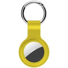 iMoshion Liquid Silicone Keychain Case Apple AirTag - Gelb