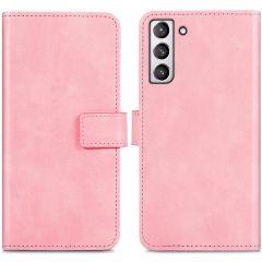 iMoshion Luxuriöse Buchtyp-Hülle Samsung Galaxy S21 FE - Rosa
