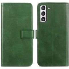 iMoshion Luxuriöse Buchtyp-Hülle Samsung Galaxy S21 FE - Grün