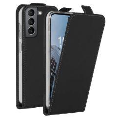 Accezz Flip Case für das Samsung Galaxy S21 FE - Schwarz