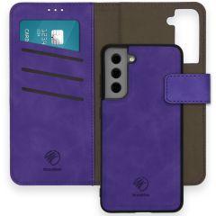 iMoshion Entfernbare 2-1 Luxus Booktype Hülle Galaxy S21 FE - Violett