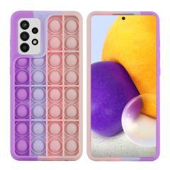 iMoshion Pop It Fidget Toy - Pop It Hülle Galaxy A72 - Multicolor