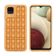 iMoshion Pop It Fidget Toy - Pop It Hülle Samsung Galaxy A12 - Gold