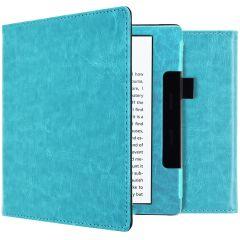 iMoshion Vegan Leather Booktype Amazon Kindle Oasis 3 - Hellblau