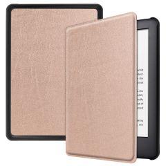iMoshion Slim Hard Case Booktype Amazon Kindle 10 - Roségold