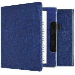 iMoshion Vegan Leather Booktype Amazon Kindle Oasis 3 - Dunkelblau